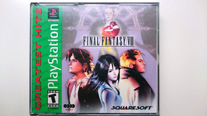 Final Fantasy VIII 8 PS1 Excellent Condition