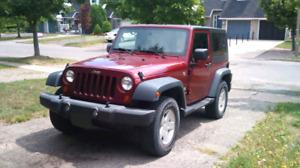 2007 Jeep Wrangler - 2 door