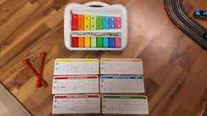 Xylophone and piano