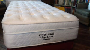 Extra long twin mattress pair. Suitable for a split king bed.
