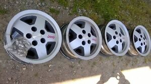 Jeep rims for sale London Ontario image 4