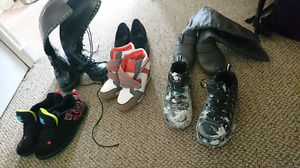 Assorted women's shoes size 6