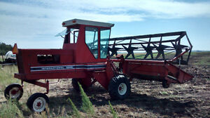 IHC 4000 gas swather Strathcona County Edmonton Area image 1