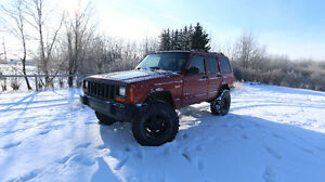 1998 Jeep Cherokee XJ + extra parts