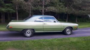 1973 dodge dart muscle  car