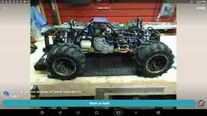 1/5 scale 30cc gas 4x4 Heavy upgraded rampage Mt, $375