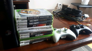 Xbox 360 and games with 2 controllers