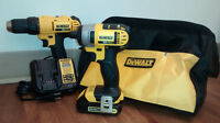 DEWALT 20V DRILL & IMPACT DRIVER KIT  **BRAND NEW**