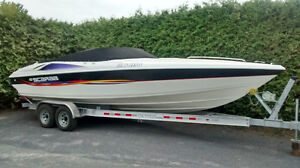 Scarab 27 speed boat