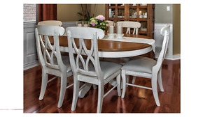 Unique Beautiful Dining Table & Chairs