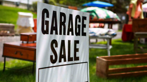 South End Guelph Garage Sale