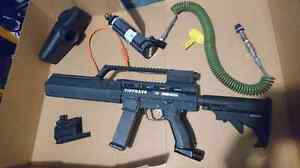 Tippman X7 Phenom with upgraded E trigger (G36 Kit)