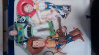 Large Talking Toy Story Characters $30obo
