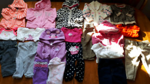 100+ items of adorable girls 3-6m and 6m.