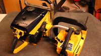 SOLD PENDING PICKUP--McCulloch  super 795 vintage chain saw