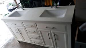 Complete bathroom vanity