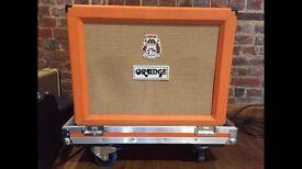 Orange AD30 2x12 combo amp in flightcase