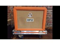 Orange AD30 2x12 combo amp in flightcase