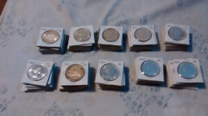 large canada silver coins ! for sale asap !