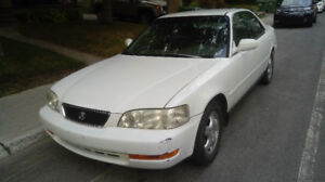 96 Acura TL, 2.5L, 184k ml, winter tires included