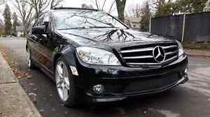 Mercedes-Benz C-350 Black AMG package 2010