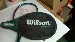 Tennis Racket Wilson Rally 27 with case