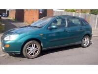 Ford Focus 1.6i 16v 2001.5MY Zetec