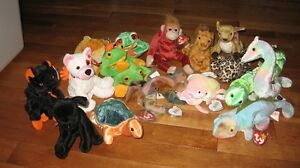 Ty Beanie Babies-MINT condition