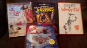 movies all for 10.00 The Christmas movie is missing one dvd Kitchener / Waterloo Kitchener Area image 1