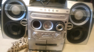 Cassette Cd radio stereo system player like new mint condition