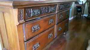 ANTIQUE hutch with attached mirror Kawartha Lakes Peterborough Area image 2