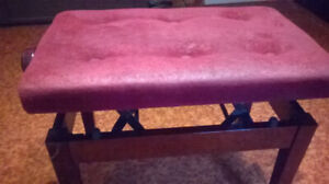 Used piano benches