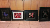 Native Art Designs, matted 16x20 option of framed or originals