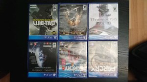 Jeux ps4 neuf - call of duty far cry deux ex