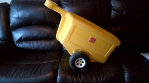 Attachment for toddler tractor