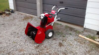 **Toro snowblower 8HP 24 inch with Electric start