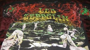 led zeppelin t shirt 1992 rare