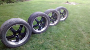 """22"""" boss rims and tires"""