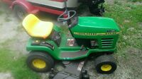 2 riding lawn mowers for sale