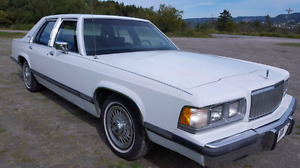 Classic Ford , Grand Marquis Mercury 1990