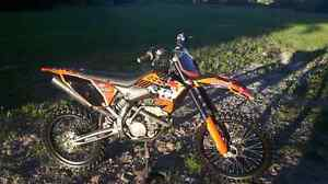 2008 ktm sxf 250 need gone or trade for streetbike