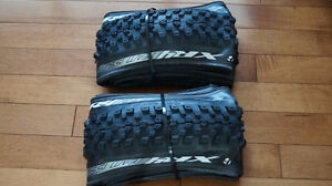 Various Tires including: Bontrager XR4 Team Issue 26x2.2 pair