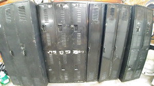 Casier de métal/ rangement pour garage/ décoration industriel