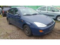 2000 Ford Focus 1.6.. Lhd left hand drive . Spare or repairs .