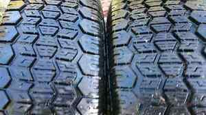 Used winter tires Tiger Paw 205R14 and 165 R15