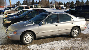 1996 Honda Accord Sedan needs transmission
