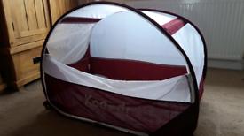 Reduced - Koo-Di Pop-Up Bubble Travel Cot