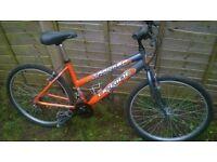 Tracker Upride mountain bike