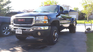 2004 GMC Sierra Dually 4x4. Perfect hauler for the landscaper.