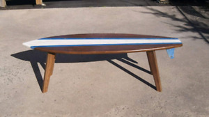 Surfboard Coffee Table/Bench